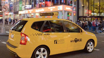 The Next New York Taxi Cab - New Kia Rondo