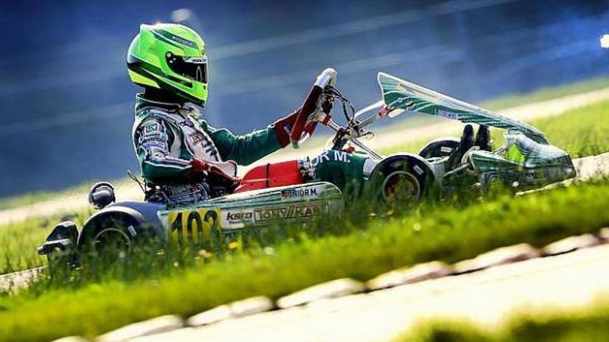 Schumacher's son makes single seater debut