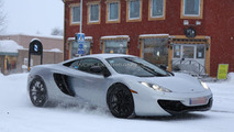 Mysterious McLaren prototype spied wearing an MP4 body