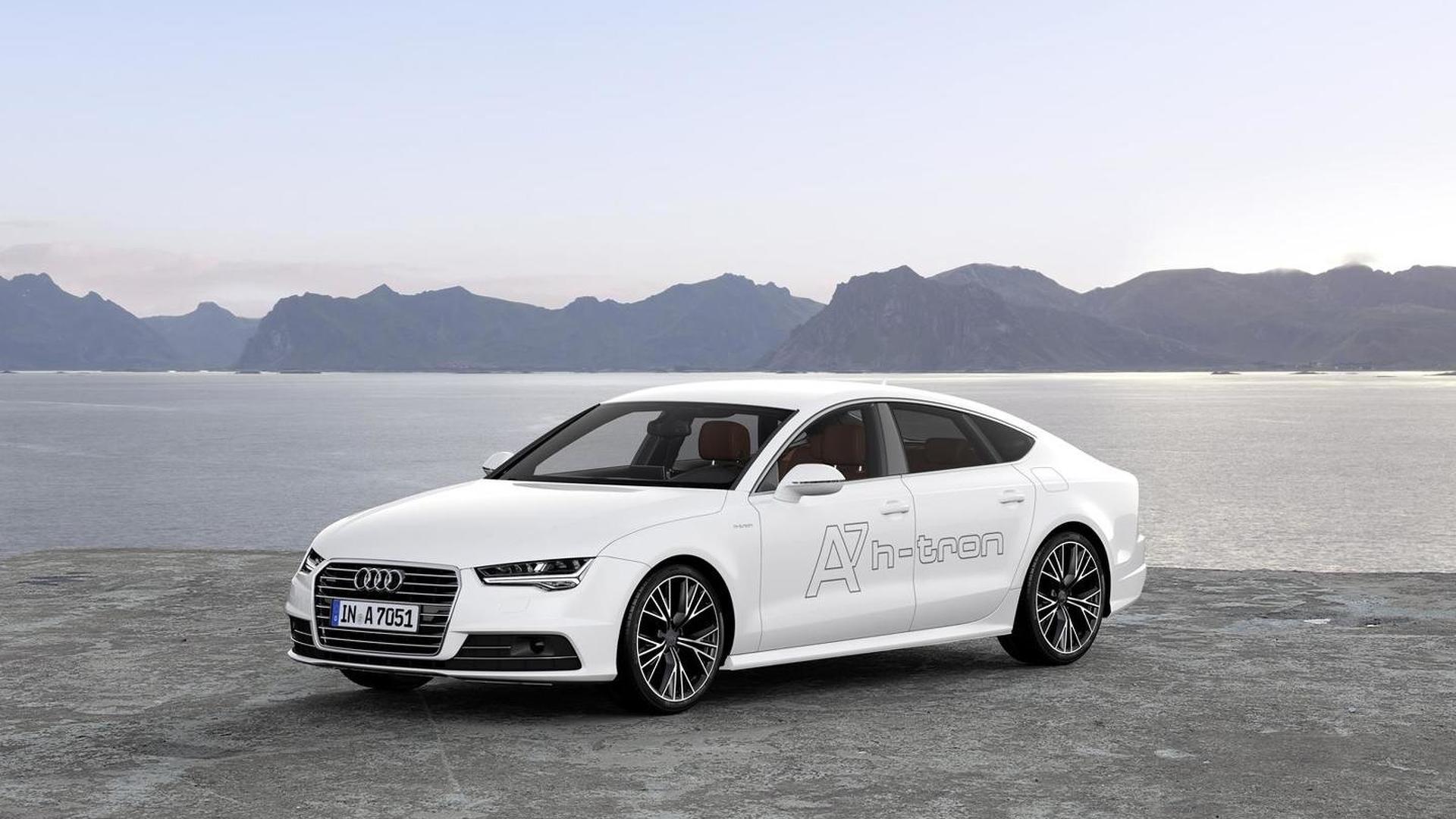 Водородомобиль Audi A7 Sportback h-tron quattro concept 2014