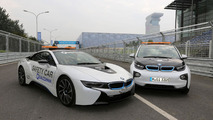 BMW i3 & i8 safety cars for Formula E