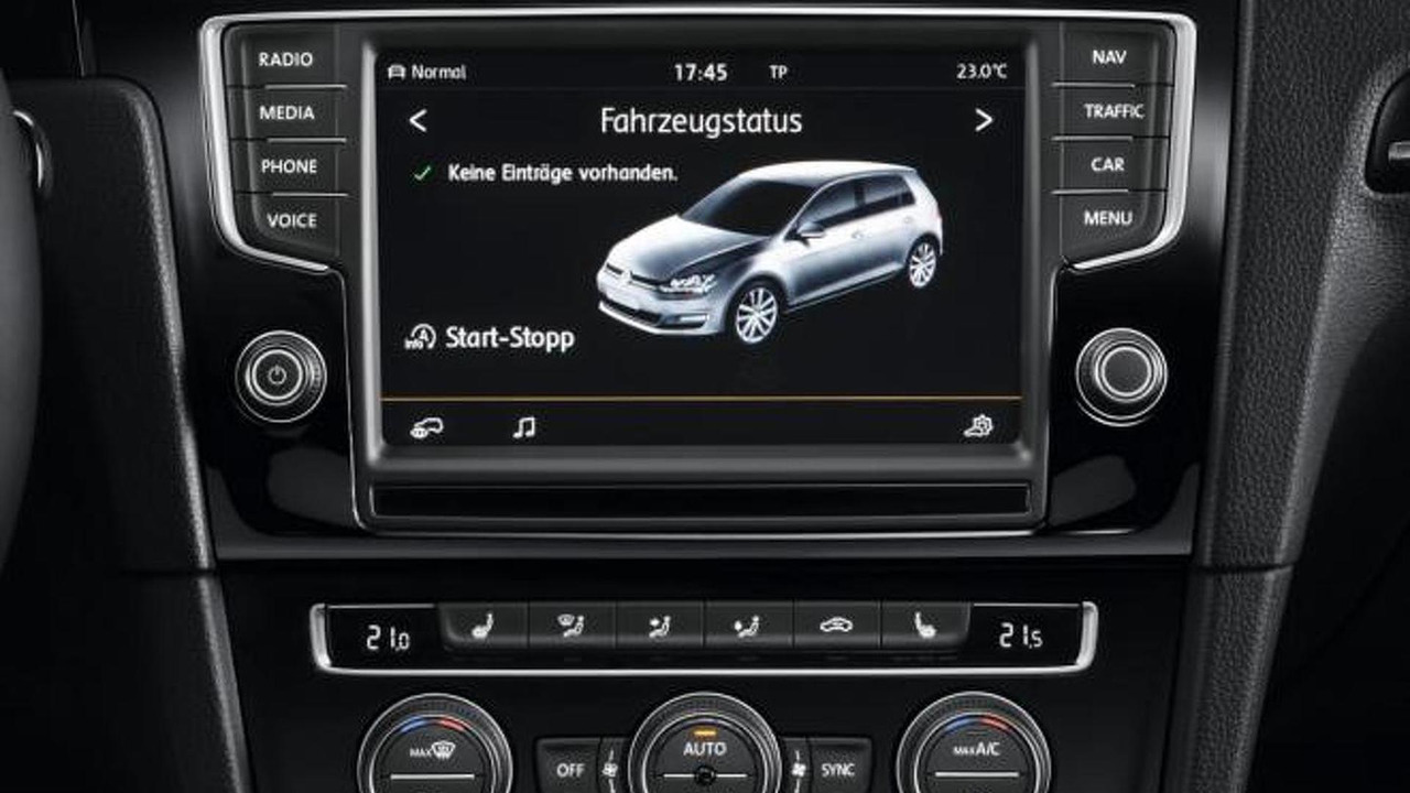 volkswagen golf vii radio navigation system discover pro photo. Black Bedroom Furniture Sets. Home Design Ideas