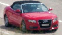 Audi A5 Cabrio Spy Photo