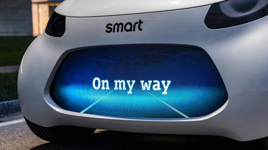 Bu teaser Smart'ın yeni konseptini gösteriyor