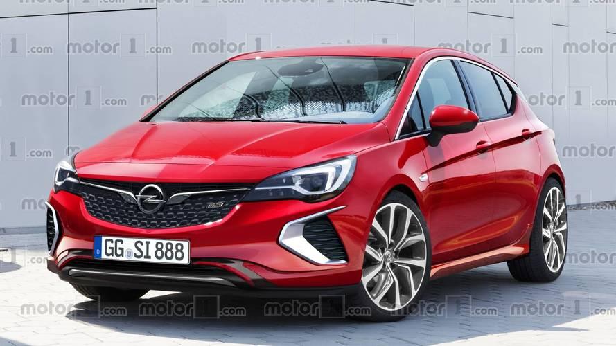 La nouvelle Opel Astra GSi ressemblera probablement à ça !