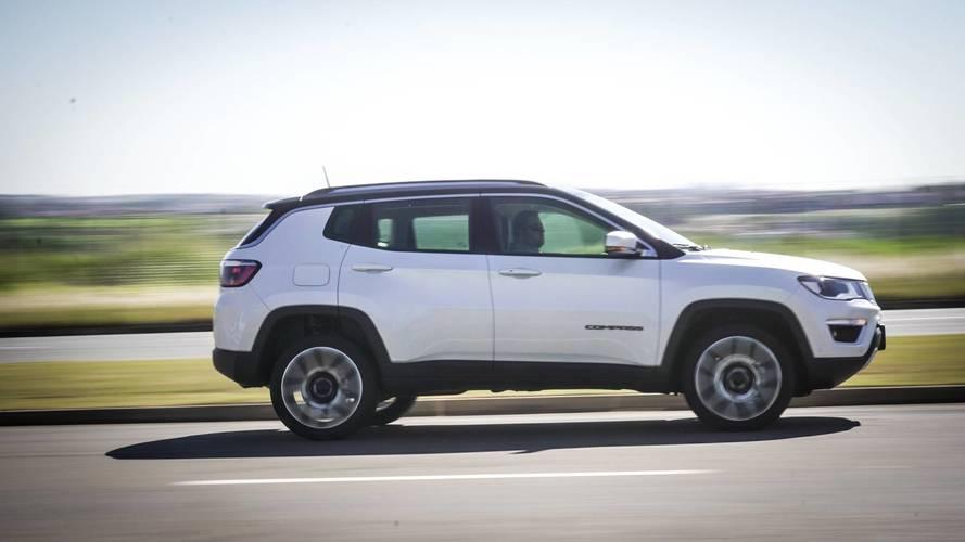 Impressões Jeep Compass Limited 4x4 2018 - Pacotão + tração