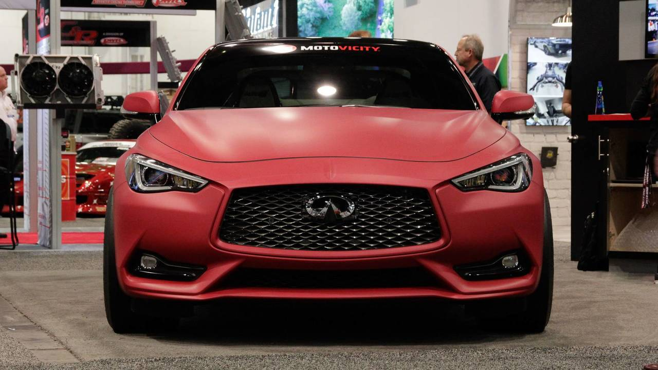 Infiniti Q60 Red Alpha >> Infiniti Q60 Red Alpha Concept Previews New Accessory Range
