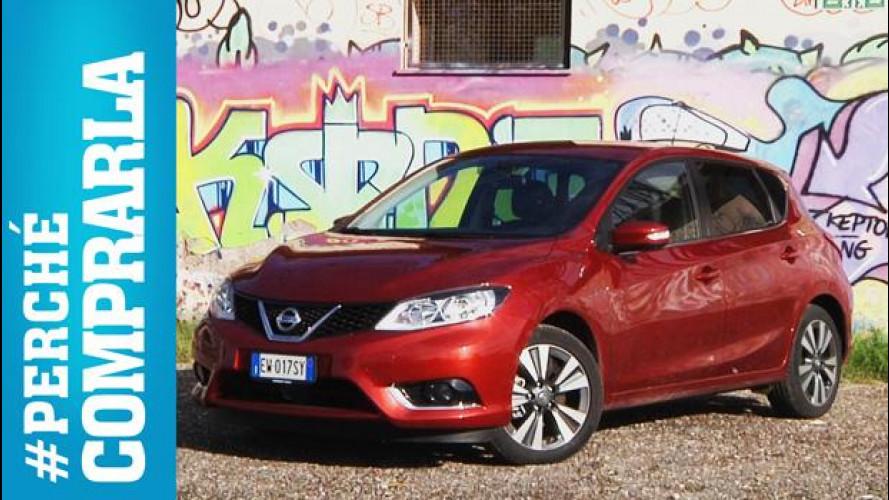Nissan Pulsar, #perchécomprarla... e perché no [VIDEO]
