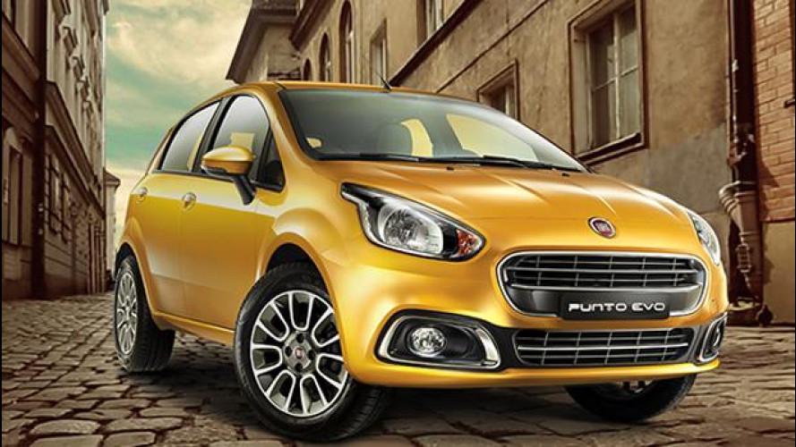 Una nuova Fiat Punto, straniera...