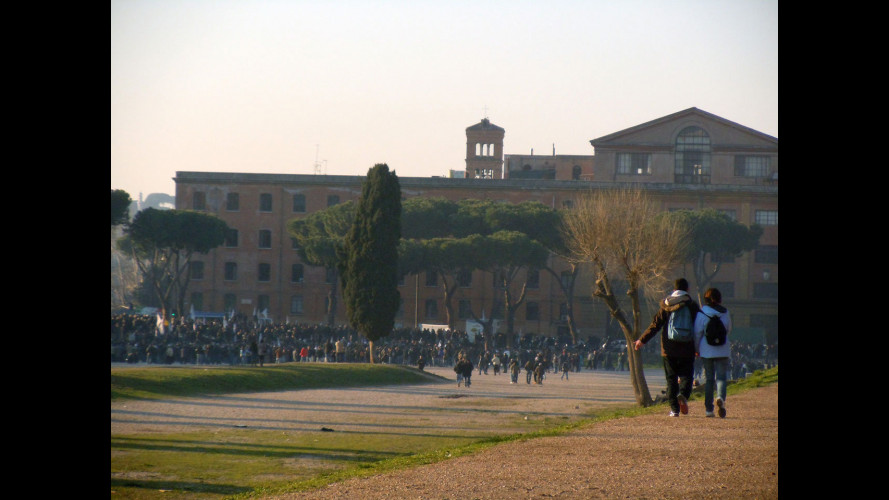Liberalizzazioni, Taxi ancora al Circo Massimo