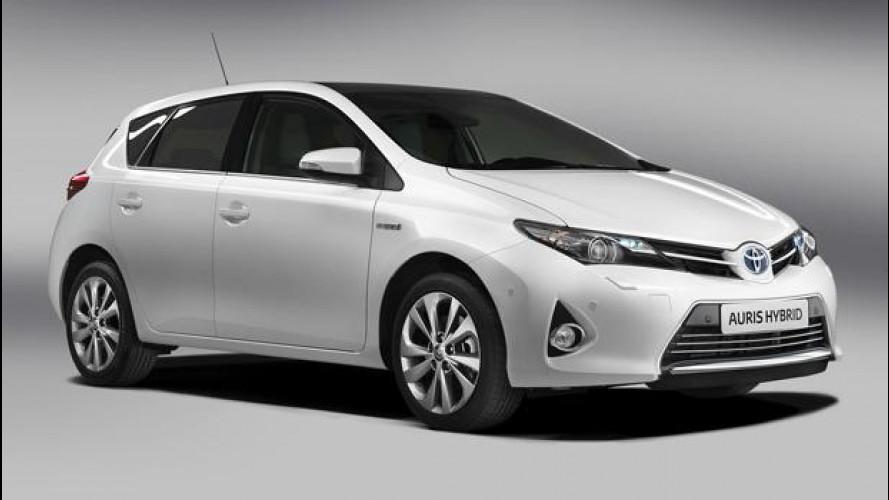 La nuova Toyota Auris è pronta per Parigi