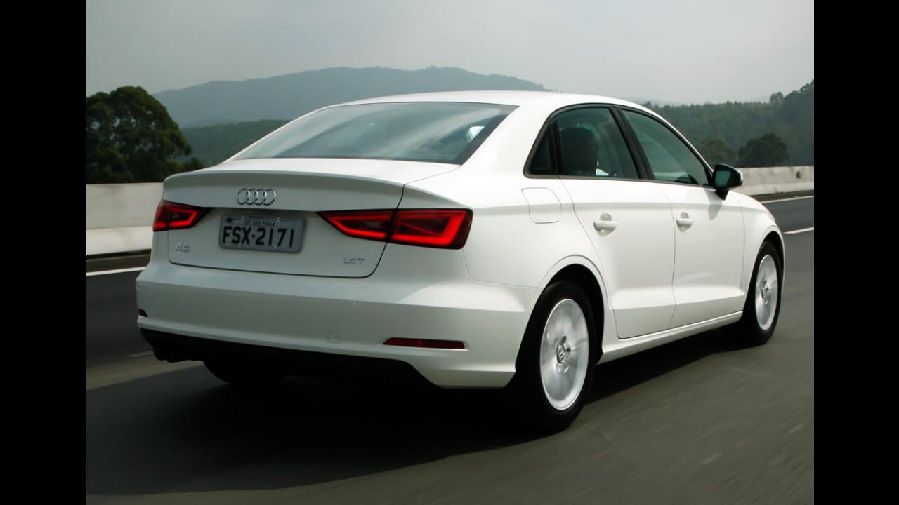 100%: Audi dobra vendas no Brasil no acumulado de 2014