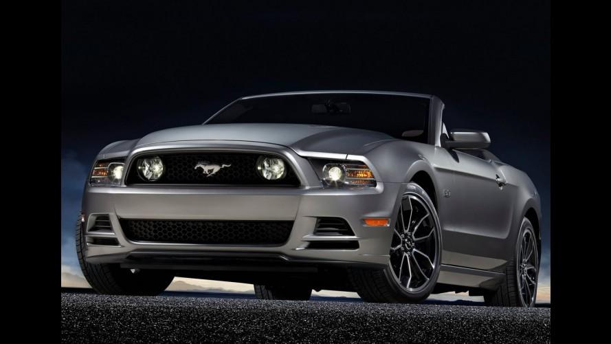 Nova geração do Ford Mustang está sendo desenvolvido com parâmetros europeus