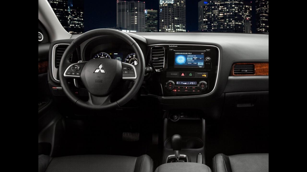 Mitsubishi lançará novo Outlander 2014 no Brasil em outubro
