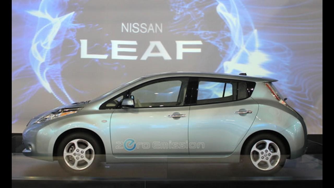 Nissan Leaf é eleito o