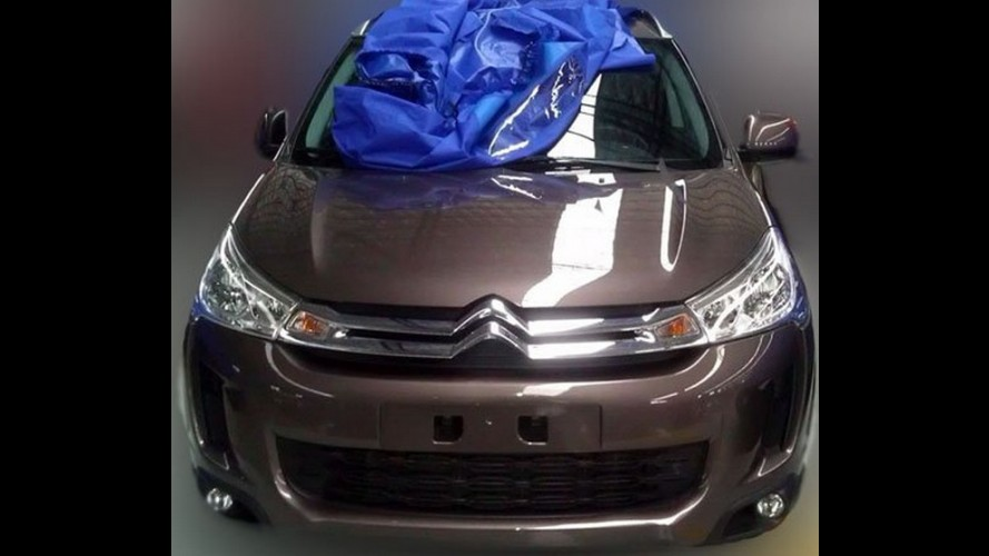 Novo Citroën C4 Aircross foi flagrado na China