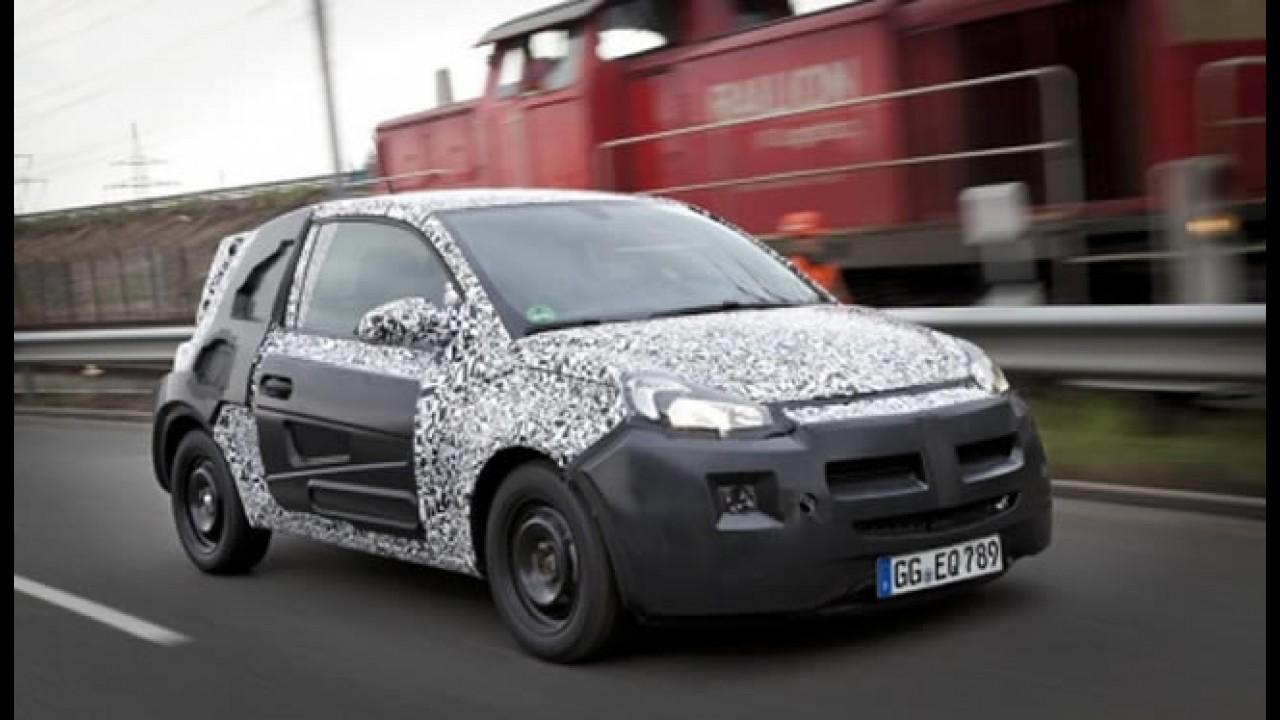 "Opel divulga o emblema ""Adam"", mas nada de mostrar o carro"