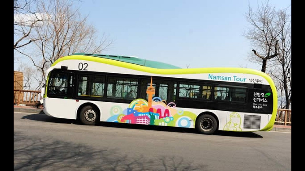 Coreia do Sul: ônibus que recarregam via wireless já são realidade