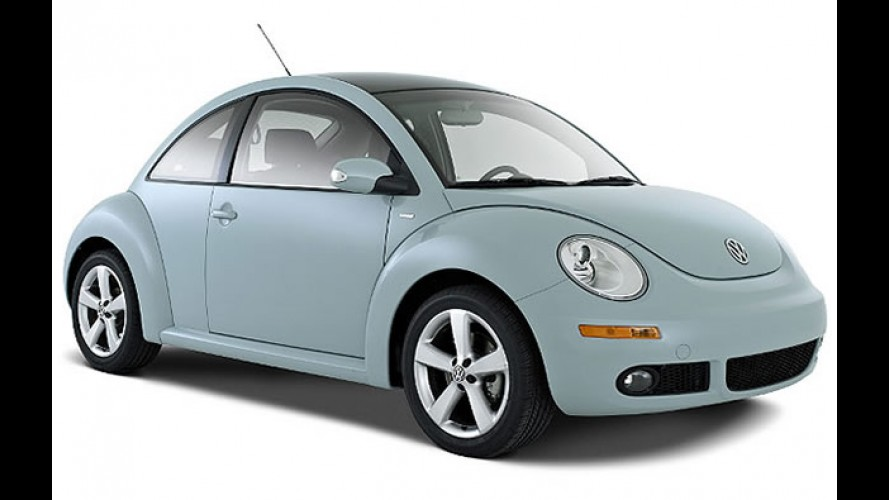 Fim dos estoques: Volkswagen New Beetle deixa de ser vendido no Brasil