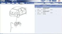 sketch of 2009 Seat Ibiza