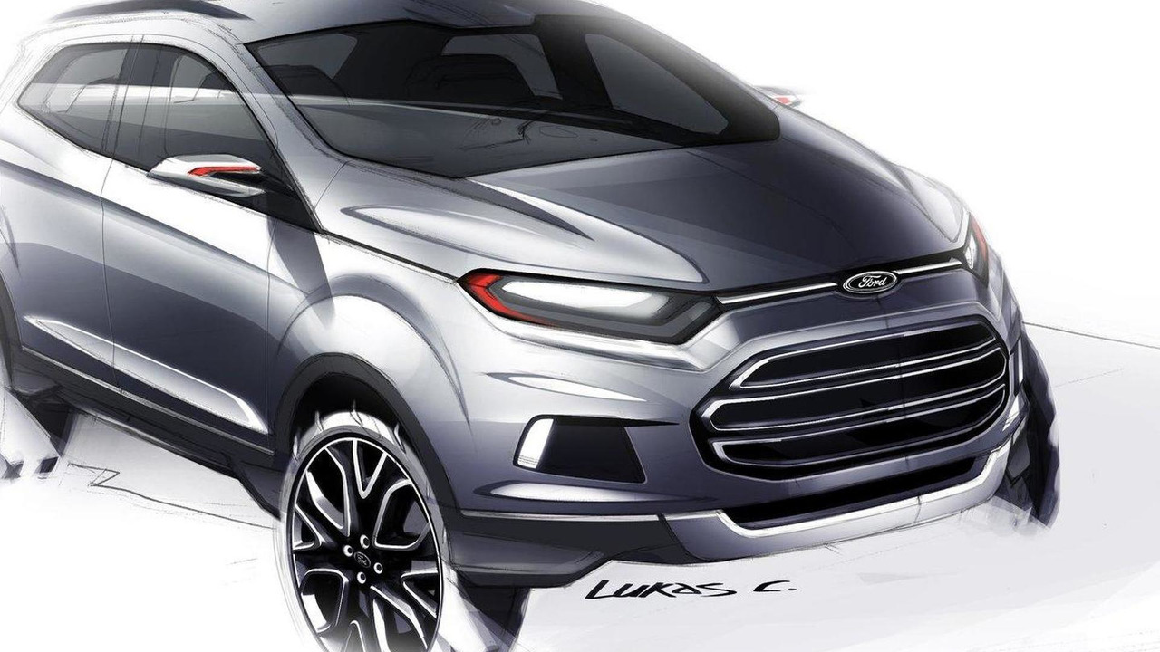 Ford EcoSport compact SUV 04.01.2012