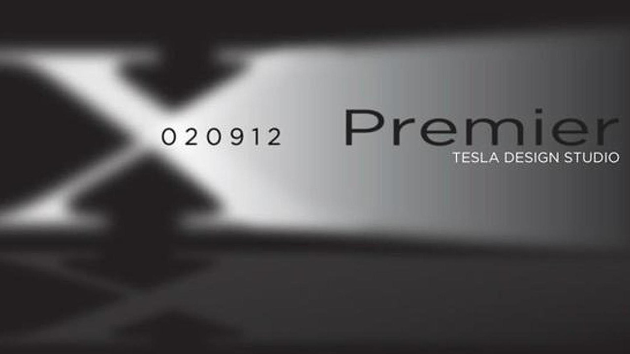 Tesla model X crossover to debut on Ferbruary 9th 2012