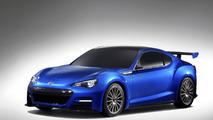 Subaru BRZ STI concept - 16.11.2011