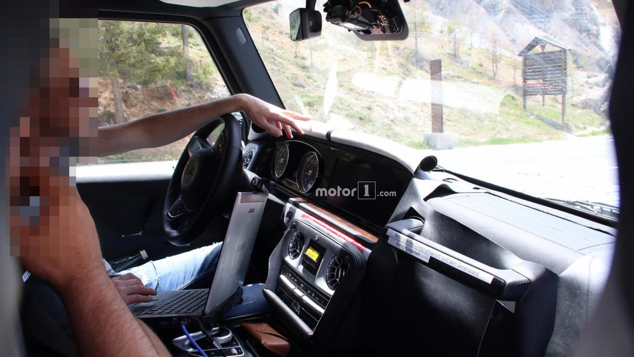 2019 Mercedes-AMG G63 new spy shots including interior