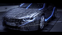 2018 BMW i8 Roadster teaser