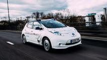 Otonom Nissan Leaf Londra Testi