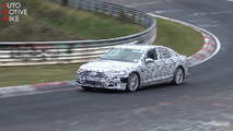 2019 Audi S8 screenshot from spy video