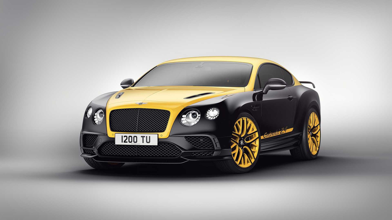 Bentley Continental 24 special edition