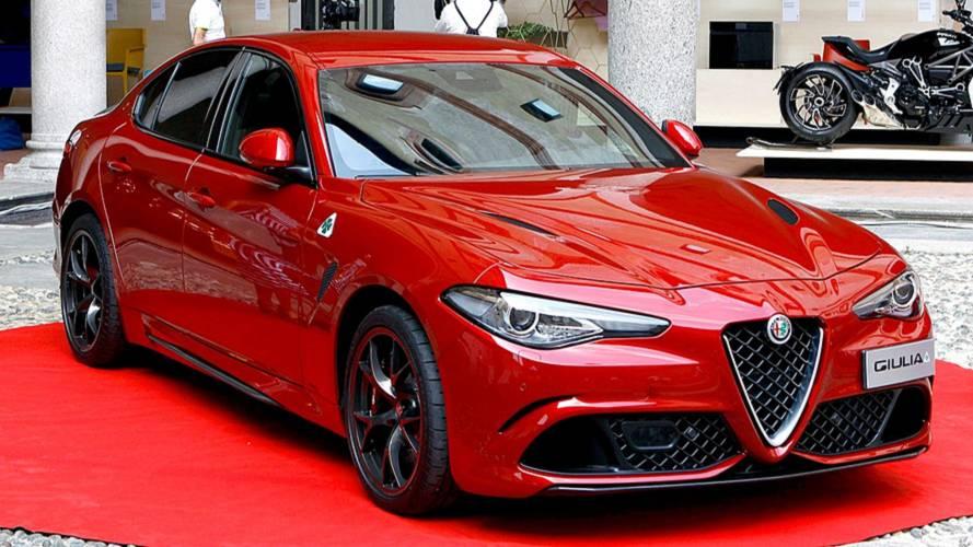 Le design de l'Alfa Romeo Giulia récompensé