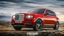 Rolls-Royce Cullinan Renderings