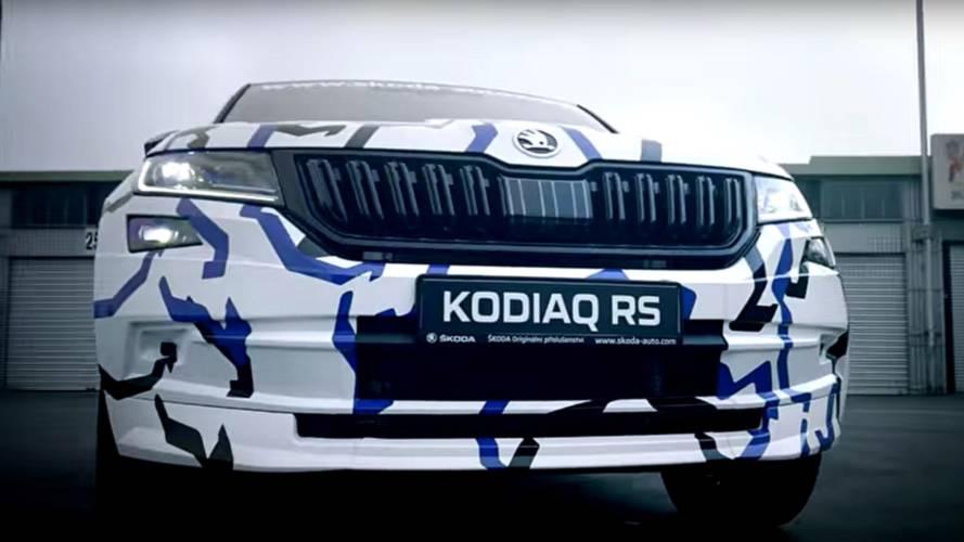 Skoda Kodiaq RS, il primo teaser al 'Ring
