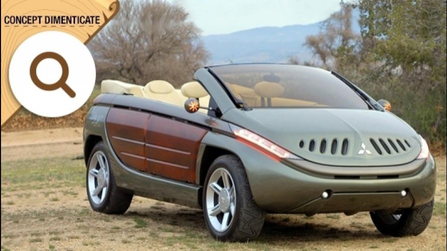 Mitsubishi SUP, la 4x4 cabrio con gli sportelli trasparenti