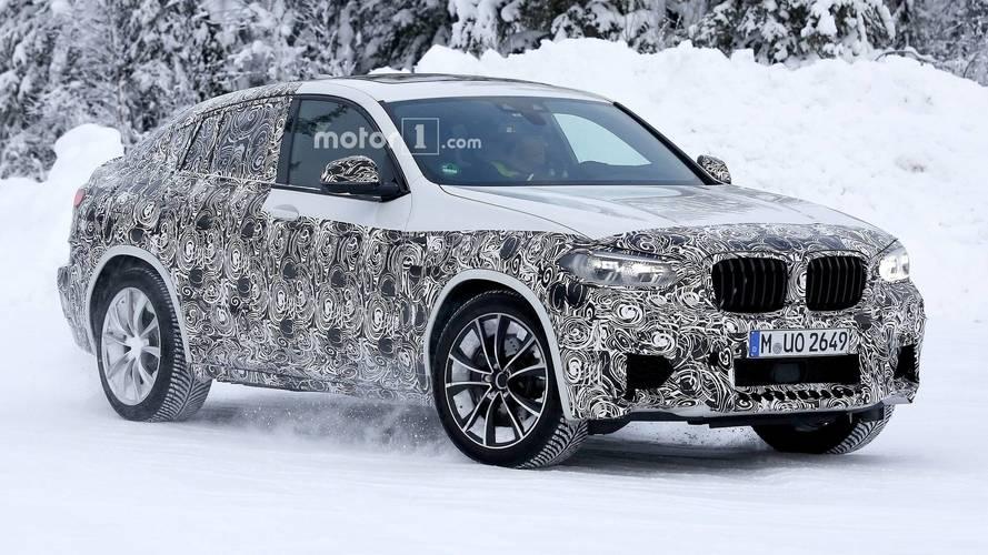 BMW X4 M soğuk hava testlerinde yakalandı