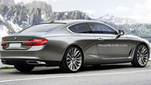 BMW 8-Series rendering / Theophilus Chin