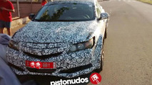 2016 Honda Civic spy photo / pistonudos.com