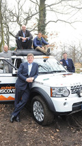 1,000,000th Land Rover Discovery w / Ray Mears, Monty Halls, Ben Saunders and Sir Ranulph Fiennes 29.2.2012