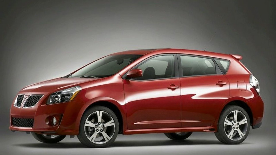 GM to Cease Pontiac Vibe Production