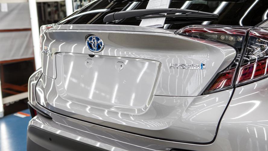 Toyota C-HR production start