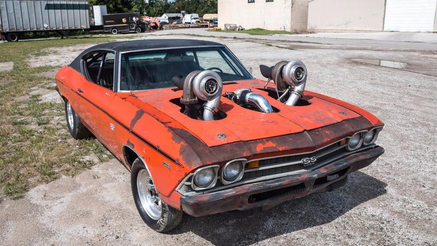 VIDÉO - Une Chevrolet Chevelle de 1300 ch, ça donne quoi ?