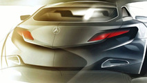 Mercedes ConceptFASCINATION design sketch