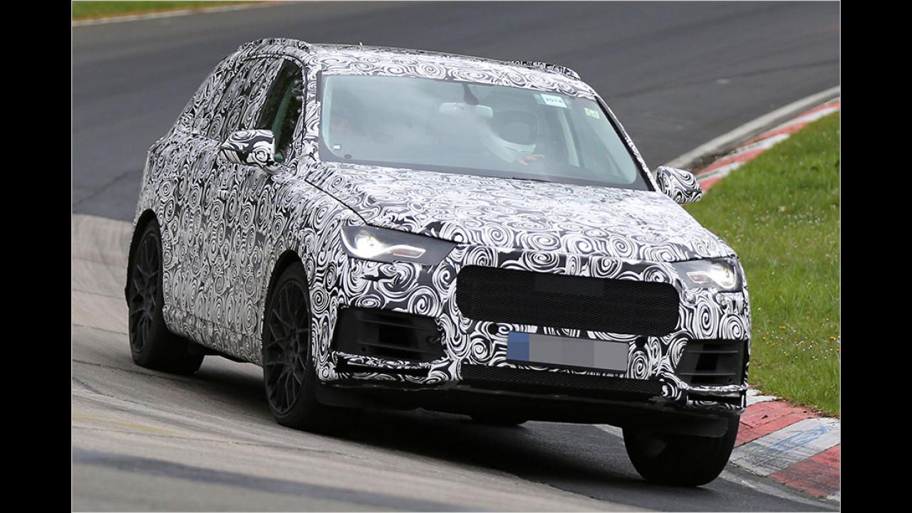 Audi Q7 als Erlkönig