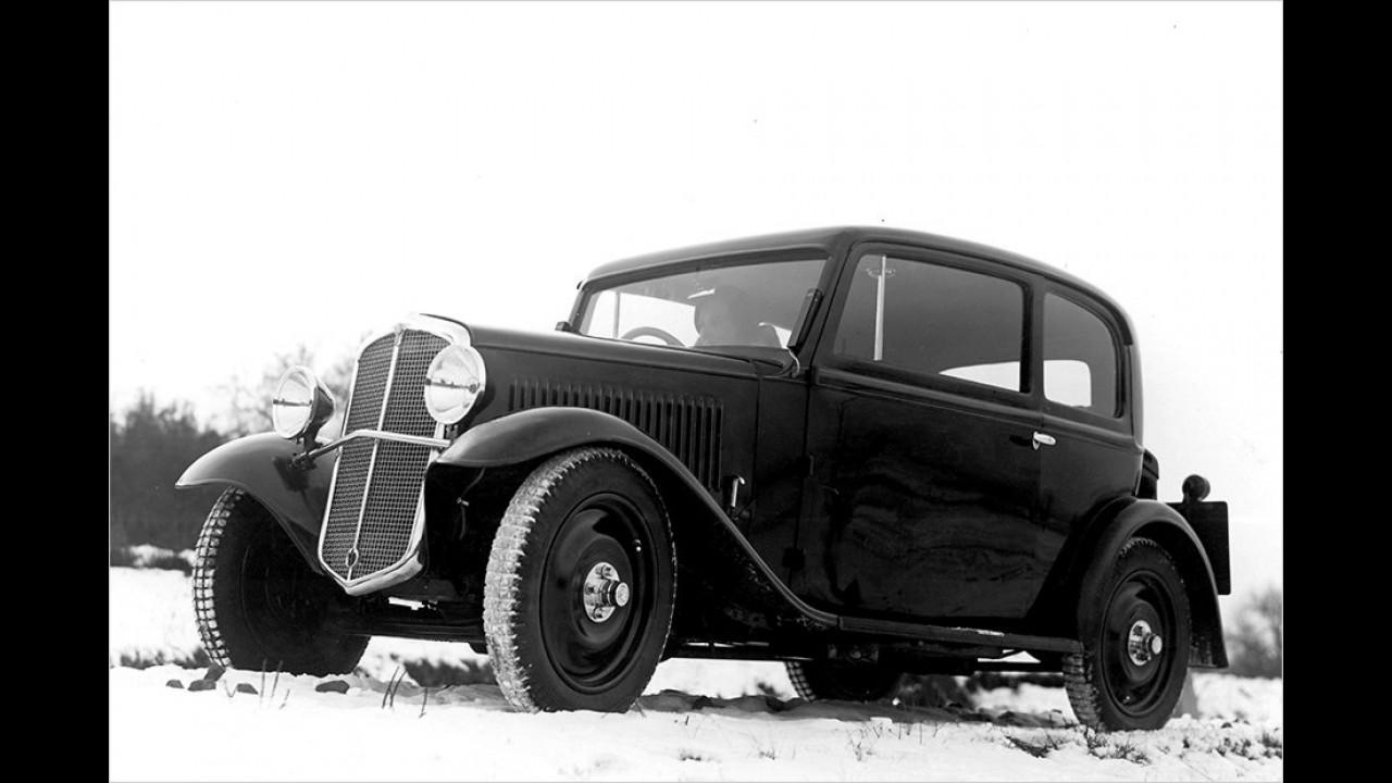 1933: Skoda 420 Standard