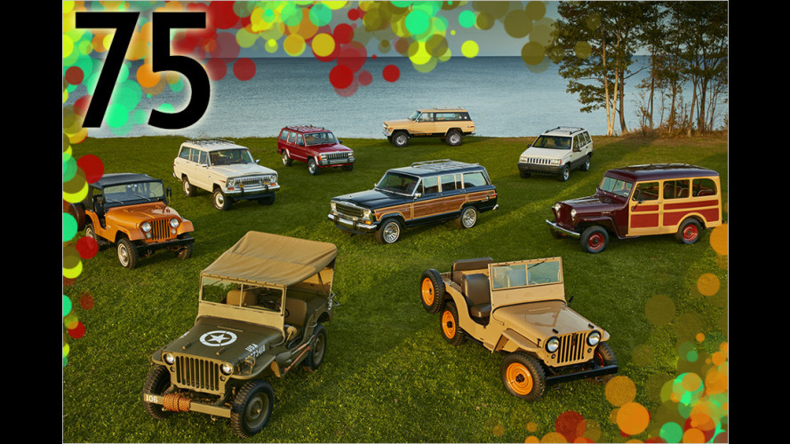 75 Jahre Jeep in 25 Meilensteinen: Vom Willys ,Quad
