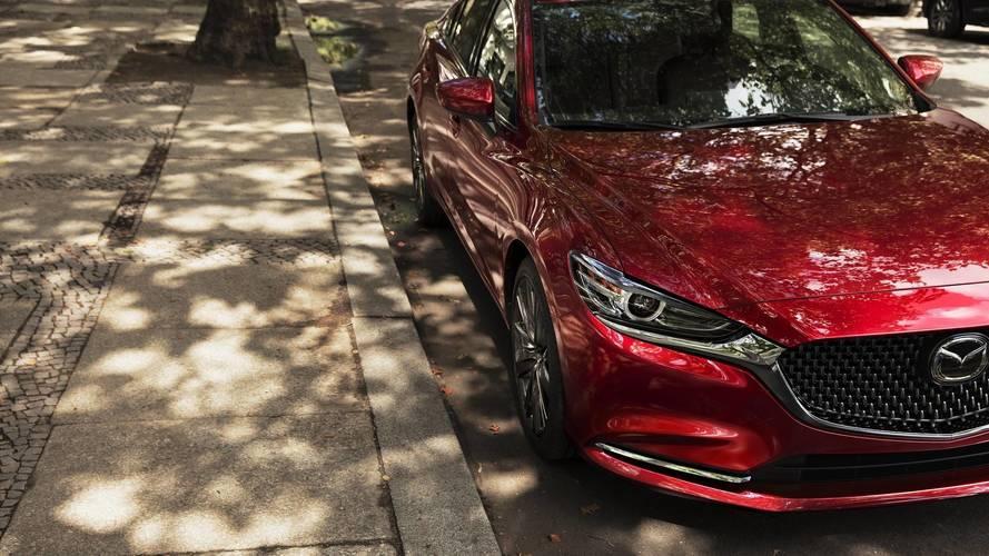 Primeras fotos del Mazda6 2018, antes de su debut en Los Ángeles