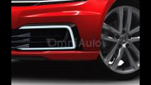 Nuova Volkswagen Golf, il rendering