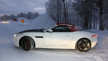 2015 Jaguar F-Type four-cylinder spied in Scandinavia